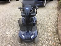 INVACARE Leo 4 wheel mobility scooter, approx 3 yrs old, NEW BATTERIES FITTED