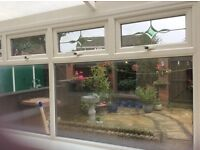 Second hand double glazed windows and door for sale