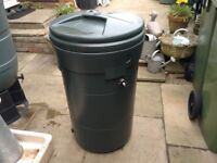 Water Butts Used and Compost Bin