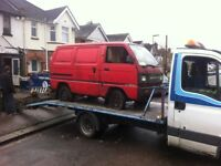 Top price paid for scrap cars / vans