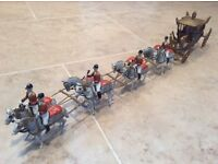 Britains hand painted lead coronation coach
