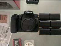 Canon 70d (used good condition)