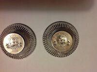 Sterling silver pierced dishes