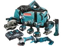 #NEW MAKITA POWER TOOLS SET Makita DLX6068PT9 18v 9 Piece Kit with 3 x 5.0Ah Batteries