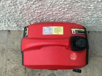 Two stroke 93 DB generator with fuel weight, 18kg