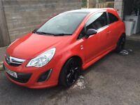 2012 Vauxhall corsa limited edition