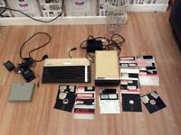 Atari 1505 and Atari 800xl mint condition fully working retro computer