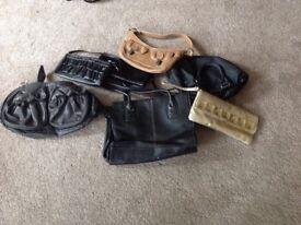Selection of used handbags