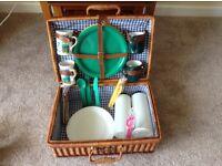Picnic basket plus accessories