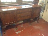 Old dining side dresser