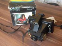 Retro 1970s Polaroid camera