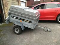 Daxara 127 trailer with NEW ABS lockable cover