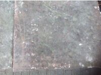 Garden slabs red and grey 450 x450x35 Used in good condition and reusable £1 each collection only