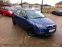 AUTOMATIC FORD FOCUS STYLE FACELIFT MODEL. ONLY 33 K MILES. LONG MOT. SUPERB DRIVE. CHEAPEST IN UK