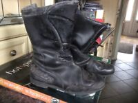 Motorcycle boots size 8 used