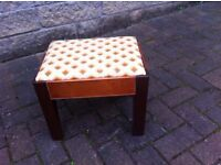 Small vintage childs seat /foot stool