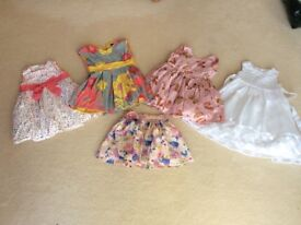 Girls dresses size 18 months -3yrs