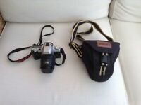 Pentax MZ-50 SLR FILM Camera With Pentax 35 - 80mm Lens Plus Strap & Carrying Case