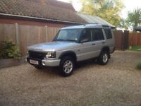 Land Rover Discovery 2 2002 GS TD5 manual 7 seat.