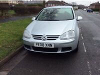 2008 Golf. 1.6 fsi petrol MOT January 2018 Excellent condition for year, some service history