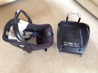 Car seat and platform by Jane