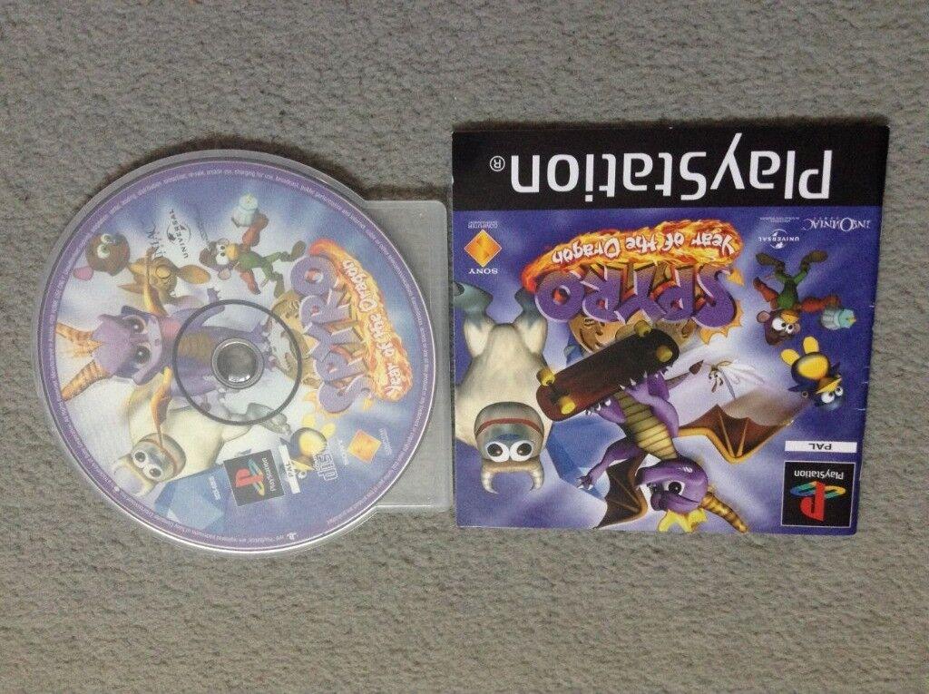PlayStation Spyro Game