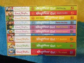 New book set Naught Girl by Enid blyton