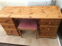 Notty pine dressing table