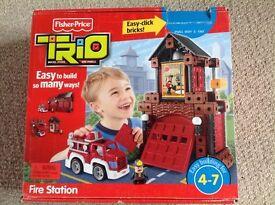 Fisher Price Trio Fire Station
