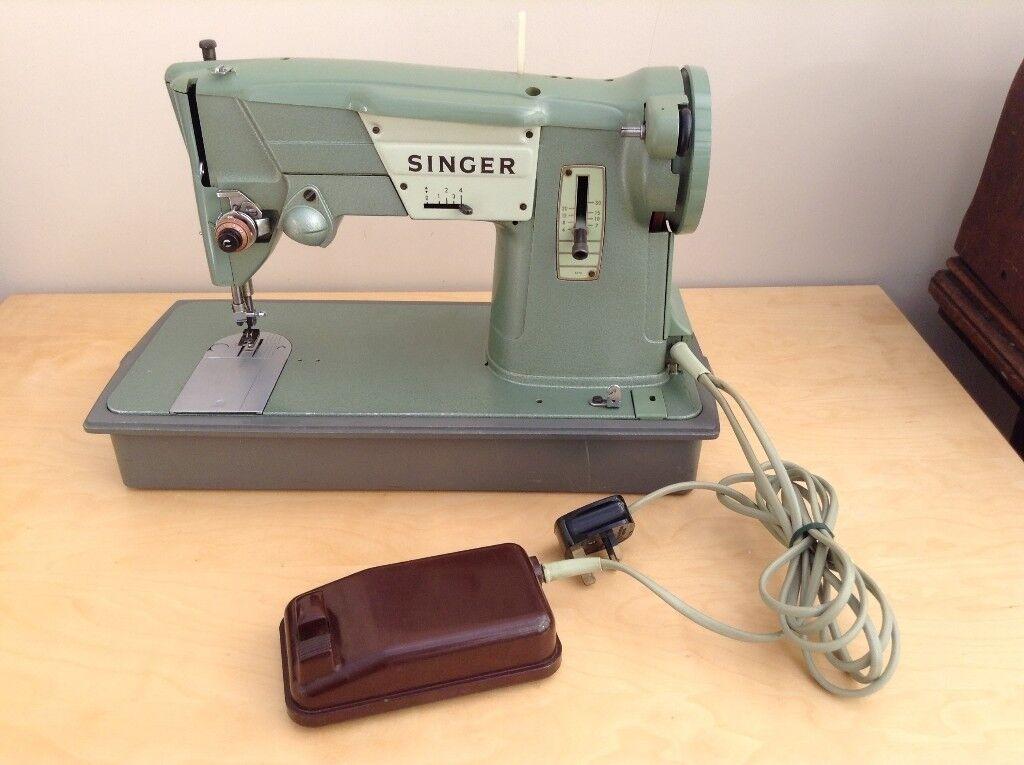 VINTAGE SINGER Sewing Machine 40's ZigZag Model 40K In Norwich Best Singer Sewing Machine 1960