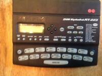 Zoom rhythmtrak drum machine