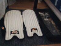 Wicket keeping pads Slazenger