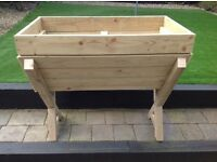 WOODEN GARDEN TROUGH made using Treated Wood