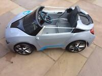 BMW Avigo i8 spyder 6V ride on car silver - not charging