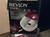Amazing condition- Revlon foot spa with accessories for only £20