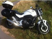 Honda NC700 SA-C , just 6,517 miles from new ,Expensive Givvi Luggage with 12 months MOT ,£4,500