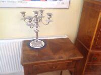 Vintage sewing machine Singer 319K in burr walnut table