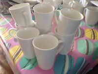 White latte mugs