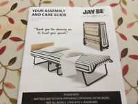 Jay-Be fold up guest bed