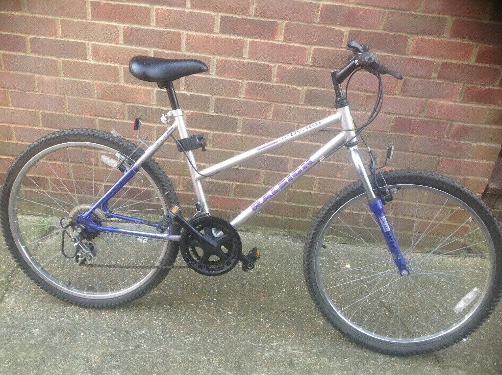 Ladies Retro Original Raleigh Activator MTB Front Suspension 10 sp