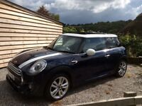 Mini Cooper D with John Cooper Works Chilli Pack Lapisluxury Blue