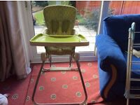 **Quick sale needed** M ama and Pappas Baby High Chair.