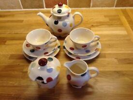 Emma Bridgewater dollies tea set.