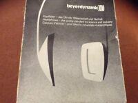 Beyerdynamic studio headphones series DT100