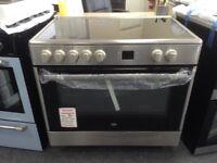 Beko 90cm single oven range cooker. £420 RRP £500 new/graded 12 month Gtee
