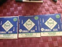 Dogal Green Label Small Size Violin Strings (1/2, 1/4)
