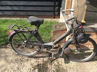 Barn find solex motorbike scooter moped