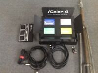 iCOLOR 4 Stage Light with ADJ controller