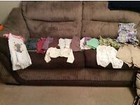 Girls 6-9 months clothes.