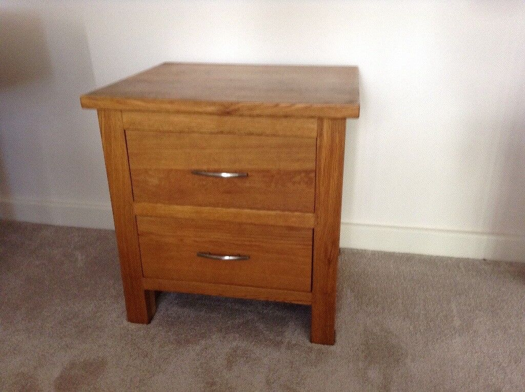 Small cabinet Solid Oak